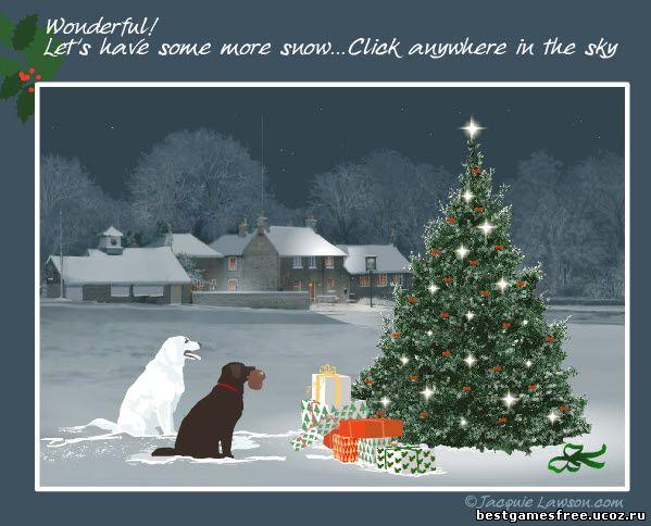 флэш  открытки с новым годом скачать