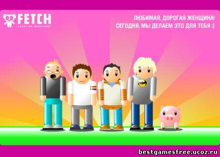 флеш открытка 8 марта